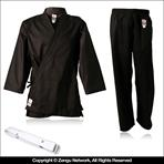 Student Black Karate Gi